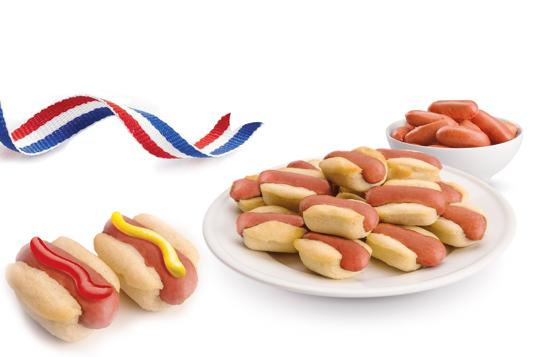 Mini Hot Dogs Mold