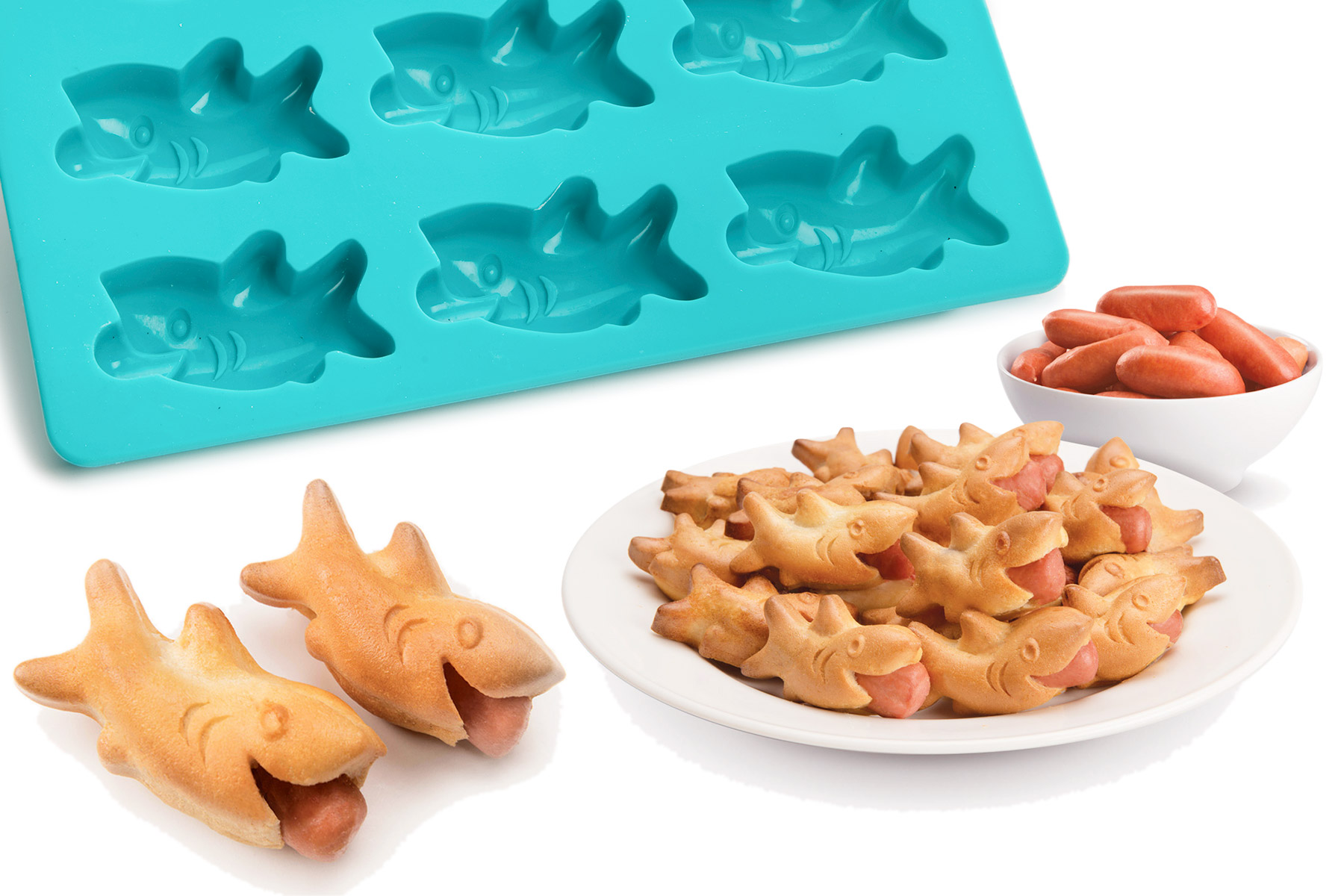 Shark Bites Mold